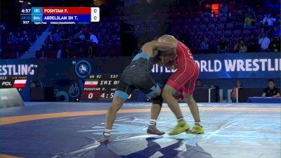 82 kg 1/8 Final - Pejman Poshtam, Iran vs Tarek Abdelslam Sheble Mohamed, Bulgaria