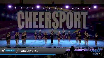 ATA Crystal [2021 Junior 5] 2021 CHEERSPORT: Atlanta Grand Championship