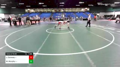 160 lbs Consolation - J Conway, IN vs Michael Murphy, NJ