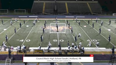 """Council Rock High School South """"Holland PA"""" at 2021 USBands Pennsylvania State Championships"""