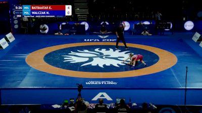 50 kg Quarterfinal - Enkhzul Batbaatar, MGL vs Natalia Walczak, POL