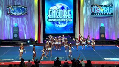 Woodlands Elite - Generals [2018 Senior Small All Girl Finals] The Cheerleading Worlds