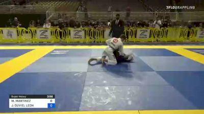 MATEO MARTINEZ vs JOSHUA DUVIEL LEON 2021 Pan Kids Jiu-Jitsu IBJJF Championship