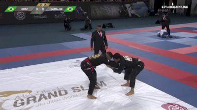 ISAQUE BRAZ vs DIEGO RAMALHO 2018 Abu Dhabi Grand Slam Rio De Janeiro