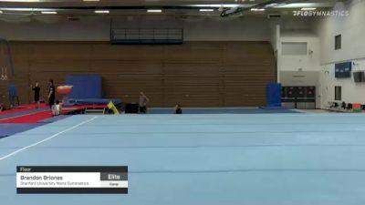 Brandon Briones - Floor, Stanford University Mens Gymnastics - 2021 Men's Olympic Team Prep Camp