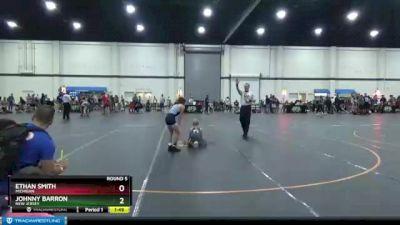 80 lbs Round 5 - Ethan Smith, Michigan vs Johnny Barron, New Jersey