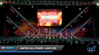 United All Stars - Lady Ice [2020 L3 Senior - D2 - Small - A Day 1] 2020 GLCC: The Showdown Grand Nationals