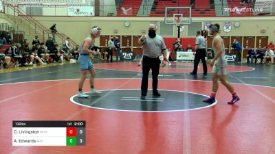 138 lbs Semifinal - Dreyvin Livingston, Reynolds vs Aaron Edwards, Burrell