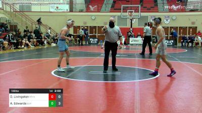 138 lbs Semifinal - Dreyvin Livingston, Reynolds vs Aaron Edwards, Burrell
