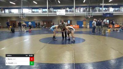 Semifinal - Ian Senz, Kent State vs Ed Scott, Unrostered