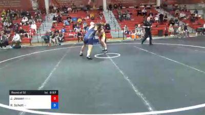 86 kg Prelims - Jack Jessen, Wildcat Wrestling Club vs Ryan Schott, Iowa