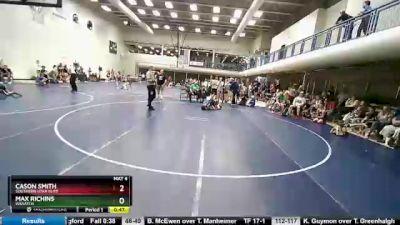 112 lbs Round 1 - Max Richins, Wasatch vs Cason Smith, Southern Utah Elite