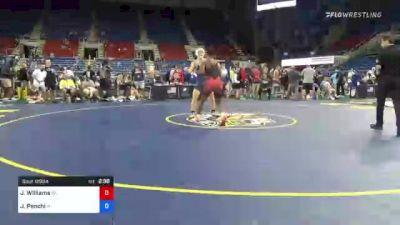 152 lbs Round Of 32 - Jordan Williams, Oklahoma vs Joseph Penchi, Wisconsin