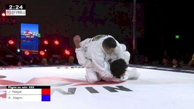 Triangle from Side Control- Jackson Nagai Submits Edwin Najmi