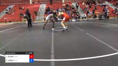 92 kg Consolation - Luke Surber, Cowboy RTC vs Cameron Caffey, Michigan Wrestling Club