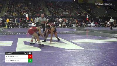 149 lbs Consolation - Brett Kaliner, Stevens Institute vs Denton Spencer, Virginia