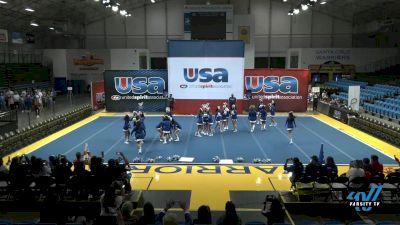 South San Francisco High School - Warriors [2021 Varsity Show Cheer Intermediate Day 1] 2021 USA Reach the Beach Spirit Competition