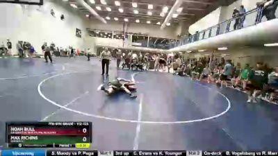 112 lbs Round 2 - Max Richins, Wasatch vs Noah Bull, Sanderson Wrestling Academy