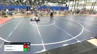 130 lbs Rr Rnd 1 - Peyton Cox, Team Gotcha Red vs Aiden Schoen, Missouri Avengers