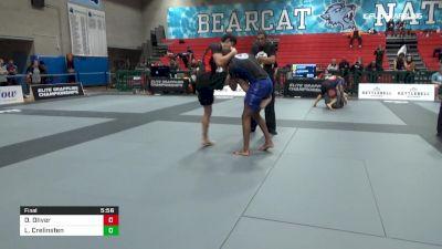 DeSean Oliver vs Liam Crelinsten 2019 Elite Grappling Championships 3
