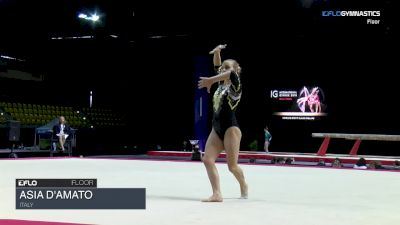 Asia D'amato - Floor, Italy - 2018 International Gymnix