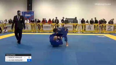 JONNATAS GRACIE ARAUJO DA SILVA vs CHARLES KILYAN MCGUIRE 2020 Atlanta International Open IBJJF Jiu-Jitsu Championship