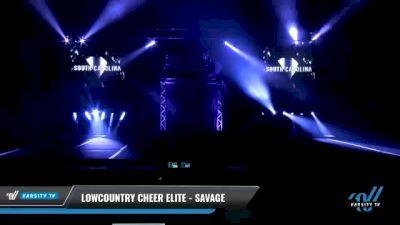 Lowcountry Cheer Elite - Savage [2021 L2 Senior Day 1] 2021 The U.S. Finals: Myrtle Beach