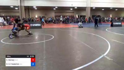 58 kg Prelims - Carson Gainey, Ohio vs Roger Stewart-Frederick, New York Athletic Club