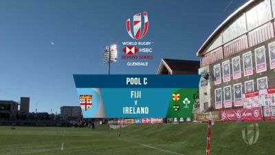 Fiji 7s vs Ireland 7s Pool C | 2018 HSBC Women's 7s Colorado
