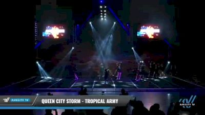 Queen City Storm - Tropical Army [2021 L2 Junior - D2 - Small Day 2] 2021 GLCC: The Showdown Grand Nationals