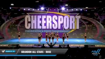 Brandon All-Stars - Rose [2021 L3 Youth - Small Day 2] 2021 CHEERSPORT National Cheerleading Championship