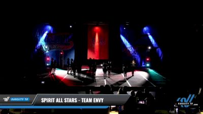 Spirit All Stars - Team Envy [2021 L4 Senior - D2 - Small Day 3] 2021 ASCS: Tournament of Champions & All Star Prep Nationals
