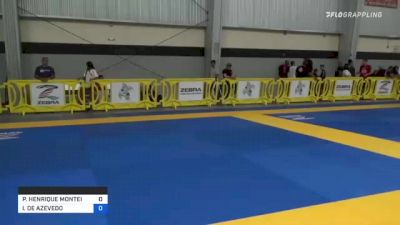 PEDRO HENRIQUE MONTEIRO vs ITALO DE AZEVEDO 2021 Pan IBJJF Jiu-Jitsu No-Gi Championship