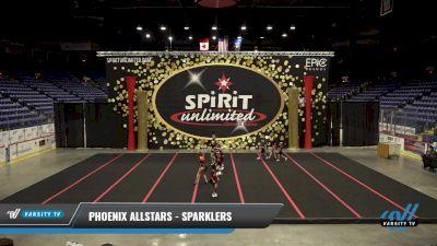 Phoenix Allstars - Sparklers [2021 L1 Tiny - Novice - Restrictions] 2021 PA Championship