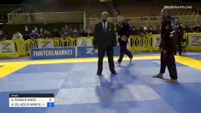 STUART RANDLE MADDOX vs HORLANDO DE JESUS MONTEIRO 2020 IBJJF Orlando International Open Jiu-Jitsu Championship