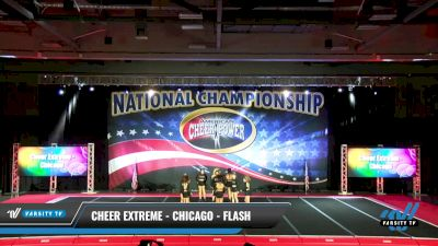 Cheer Extreme - Chicago - Flash [2021 L5 Senior Open Day 1] 2021 ACP: Midwest World Bid National Championship