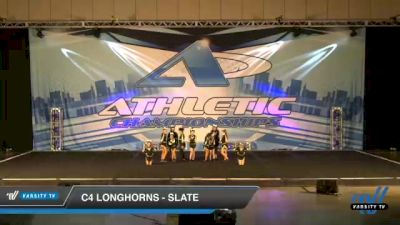 C4 Longhorns - Slate [2021 L1 Youth - D2 Day 1] 2021 Athletic Championships: Chattanooga DI & DII