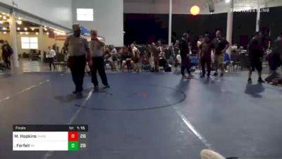 102 lbs Final - Anthony Barrett, Chaos vs Forfeit, Revival