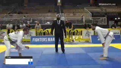 KEITH WILLIAM RUTTER vs JEREMY VERNON MC 2020 World Master IBJJF Jiu-Jitsu Championship