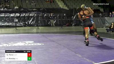 165 lbs Consolation - Quentin Perez, Campbell vs Kennedy Monday, North Carolina