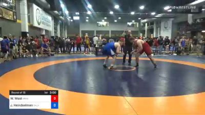 125 kg Prelims - Walter West, Minnesota vs Joshua Heindselman, Oklahoma Regional Training Center
