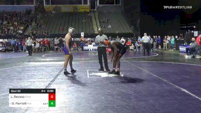 157 lbs Prelims - Quincy Monday, Princeton vs Keaton Geerts, Northern Iowa