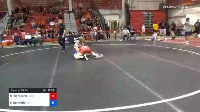65 kg Consolation - Mosha Schwartz, Northern Colorado Wrestling Club vs Van Schmidt, MWC Wrestling Academy