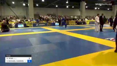 HIRYU NIWA vs VANCE MICHAEL KAMMINGA 2021 American National IBJJF Jiu-Jitsu Championship