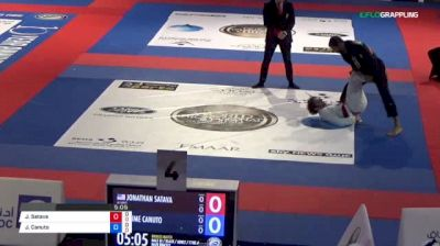 Jonathan Satava vs Jaime Canuto 2018 Abu Dhabi World Professional Jiu-Jitsu Championship