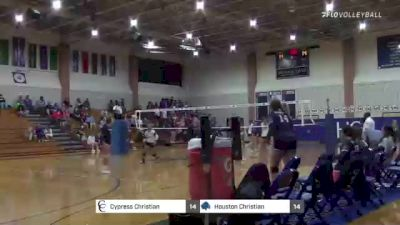 Replay: Houston Christian vs Cypress Christian | Sep 21 @ 6 PM