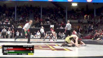 157 lbs Round Of 16 - Ke-Shawn Hayes, Ohio State vs John Van Brill, Rutgers