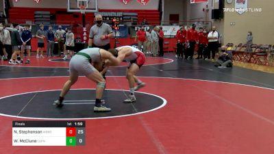 160 lbs Final - Nate Stephenson, Waynesburg vs Wayde McClune, Central Dauphin