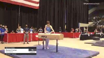 Peyton Cramer - Pommel Horse, Texas Dreams - 2021 USA Gymnastics Development Program National Championships