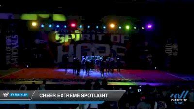 Cheer Extreme - Raleigh - SSX [2021 Senior 4.2 Day 1] 2021 Universal Spirit: Spirit of Hope National Championship